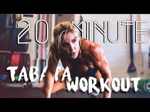 Tabata Bodyweight Workout | Sarah Grace Fitness