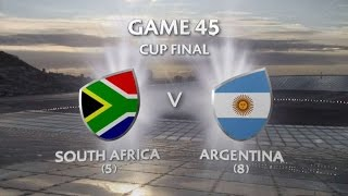 South Africa vs Argentina Capetown 7s 2015/16 - Cup Final