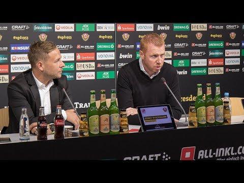 8. Spieltag   SGD - SGF   Pressekonferenz vor dem Spiel