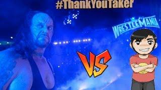 combate especial thankyoutaker chy vs the undertaker wwe 2k17