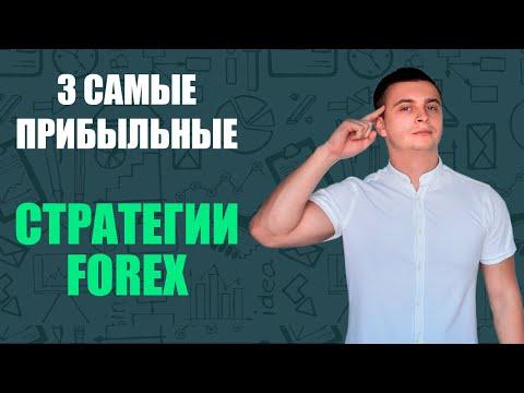 3 самые прибыльные торговые стратегии на Форекс
