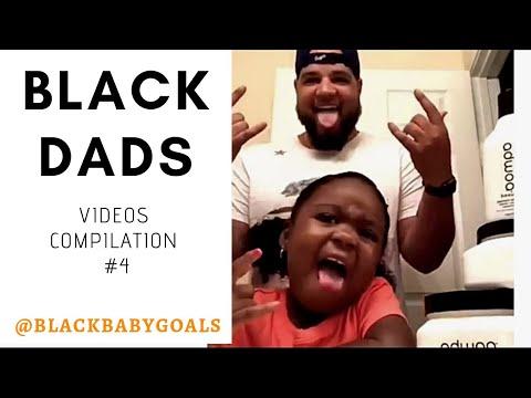BLACK DADS Video Compilation #4   Black Baby Goals