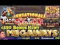 *Epic* £550 MEGAWAYS BONUS HUNT: Moriarty Megaways, Primal, Rick & Morty & more. 15 bonuses to open.