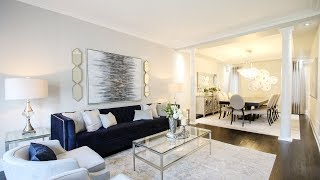 Living & Dining Room Makeover - Kimmberly Capone Interior Design