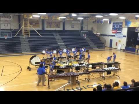 "East Ascension High School 2016-2017 Drumline practice drill ""Rolls"""