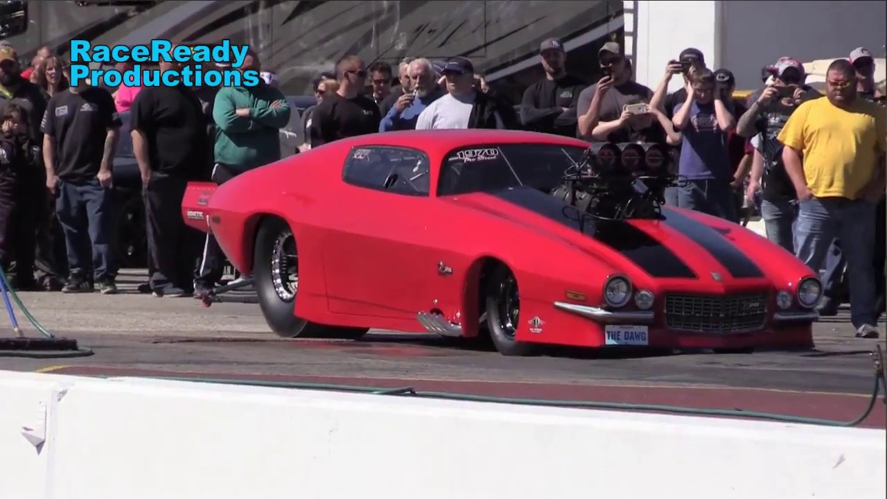 Record Breakin' Door Car pass at Mountain Park Dragway in Clay City, KY 4/8/2017 vcm