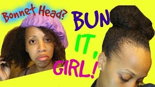 Bonnet Head Bun it Girl