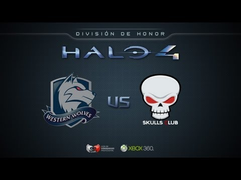 Western Wolves vs Skull Gaming - Halo4Honor LVPes Grupo B
