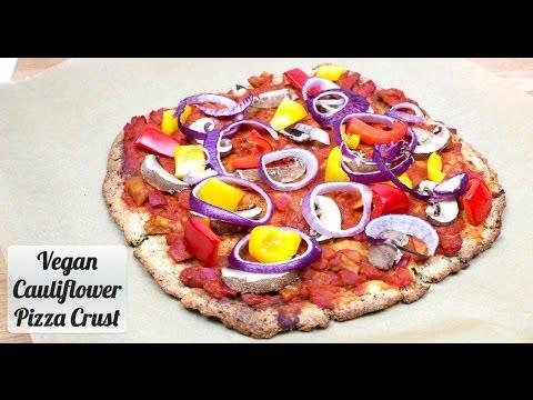 Vegan Cauliflower Pizza Crust Recipe Delicious Food