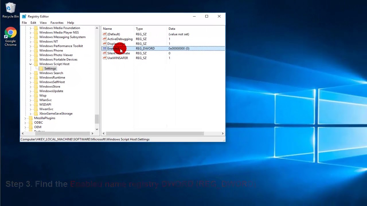 (Resolved) Windows Script Host Access Is Disabled On This Machine in  Windows 10