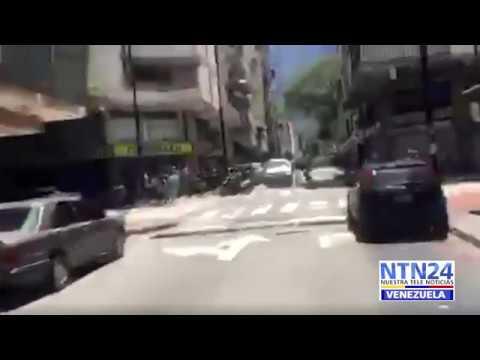 Así fue echado de un centro electoral en Caracas el expresidente español Rodríguez Zapatero