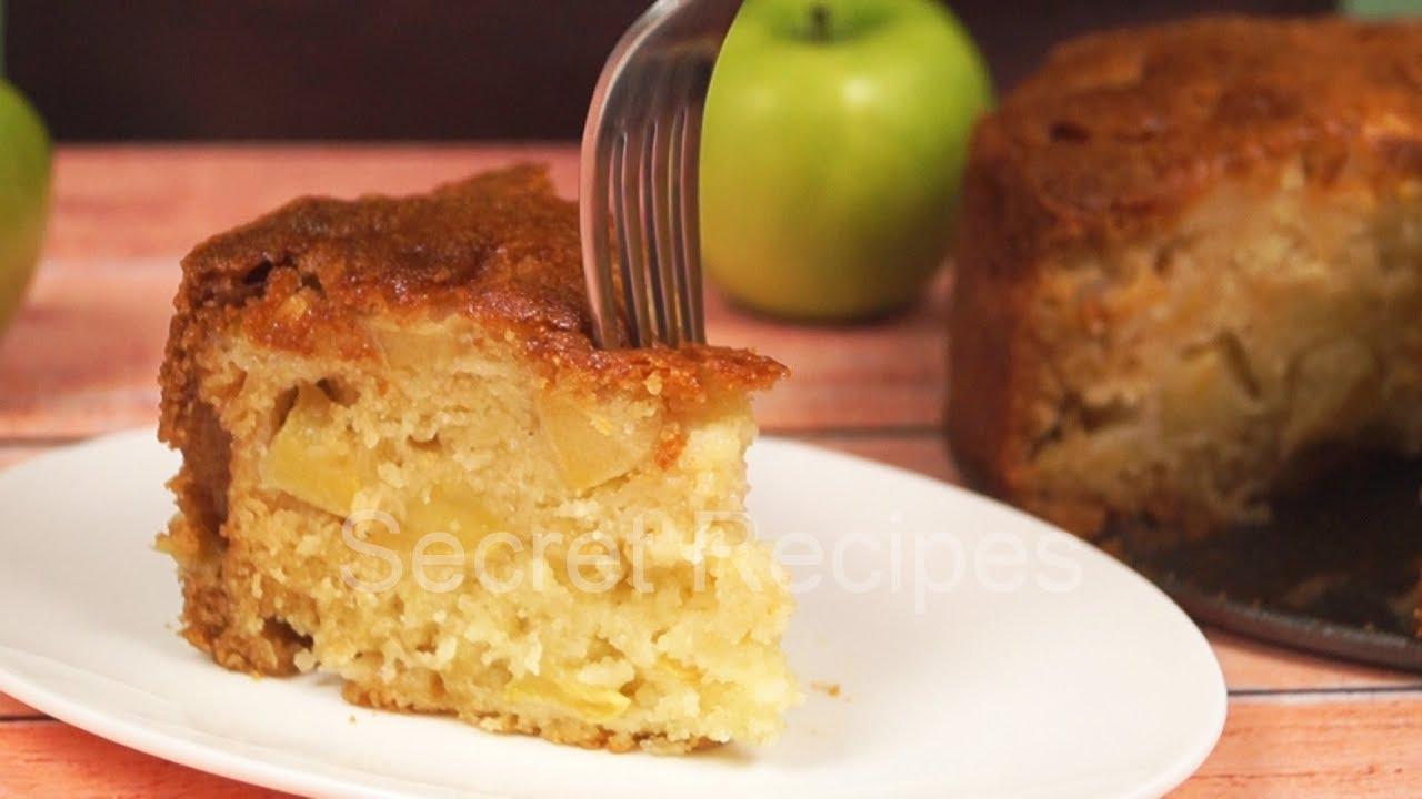 Простейший яблочный пирог из простых ингредиентов | Еда за копейки
