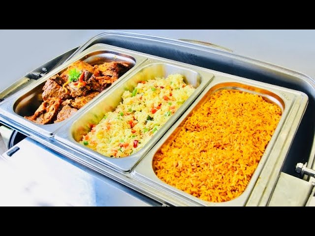 How to Cater for Nigerian-themed parties