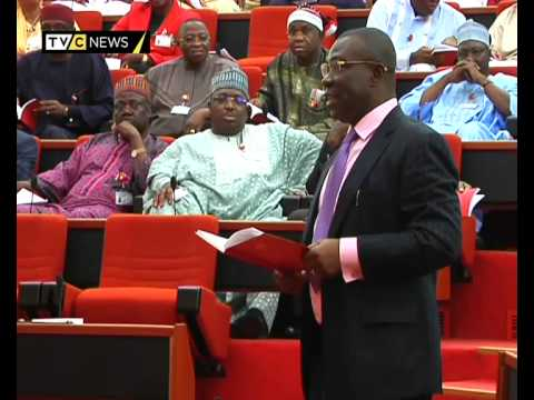 "Nigerian Senator tells colleagues to ""shut up"" during plenary"