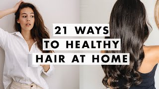 How to Fix Dry Hair and Split Ends  At Home Glow Up