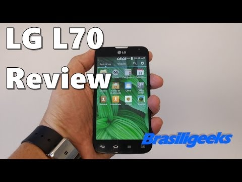 LG L70 - Análise e Testes
