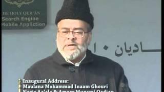 Jalsa Salana Qadian 2010: Inaugural Address (Urdu), Maulana Mohammad Inaam Ghouri