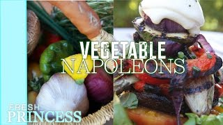 Vegetable Napoleons    Fresh P