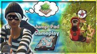 Potkal Jsem Nejhorší Hráčku Na Světě + Nový Jump Pad Gameplay - Fortnite Battle Royale
