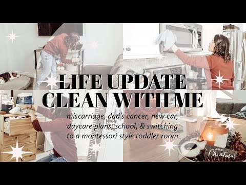 Whole House Clean With Me & Life Update | Ashley Hunt