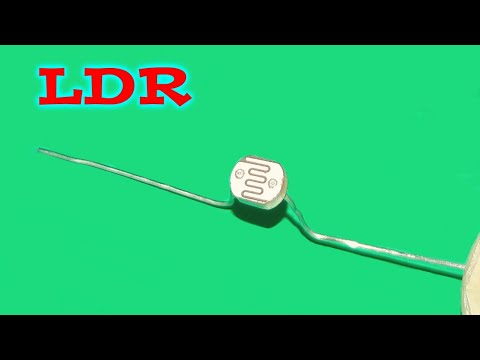 Working of LDR Live (Light Dependent Resistor) - YouTube