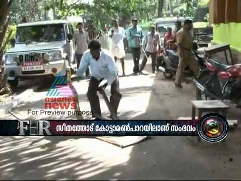 largest king cobra(rajavembala) ever  being caught(malayalam asianet F.I.R).flv