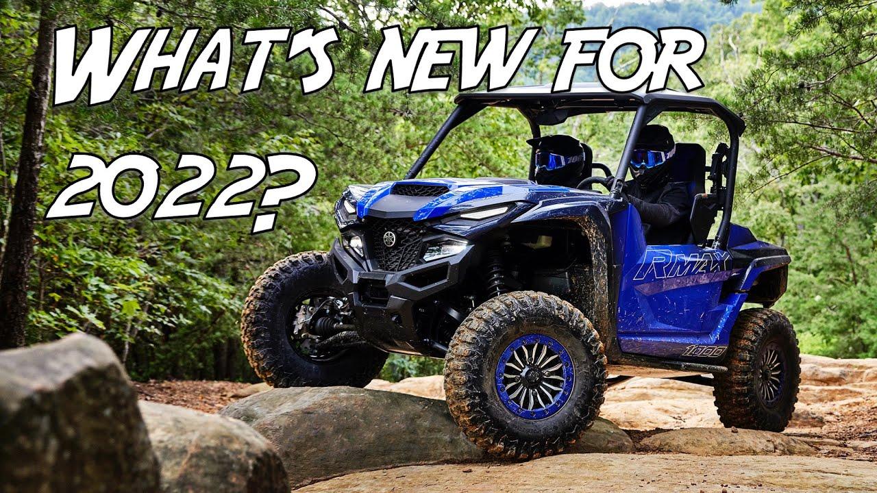 New 2022 Yamaha RMAX Sport and More