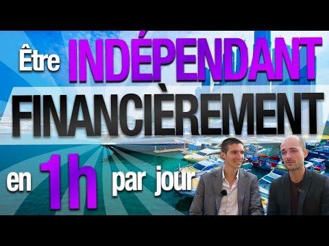 Comment être INDÉPENDANT FINANCIÈREMENT en 1 HEURE par JOUR ? par 1 EX-BANQUIER ( Pierre Ollier )