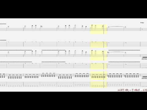 Avenged Sevenfold Tabs - Carry On