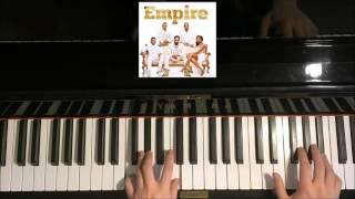 How To Play - EMPIRE - Powerful - Alicia Keys & Jussie Smollett (Piano Tutorial)