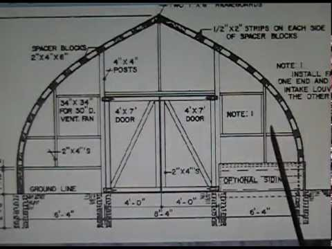 Wooden gothic arch greenhouse ribs part 2 youtube for Gothic greenhouse plans