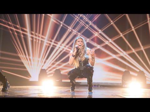"Salena Mastroianni performs ""I Don't Wanna Fight"" - Eurovision 2017: You Decide - BBC Two"