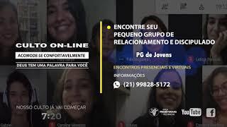 Culto Matutino - Marcelo Soares - 26/09/2021