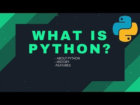 Python programming : 1. What is Python?