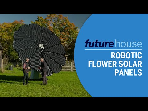 Robotic Flower Solar Panels | Future House | Ask This Old House