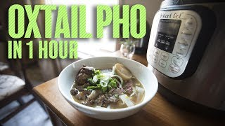 Making Ox Tail Pho In 1 Hour With An Instant (Comparable To 8 Hour Broth)