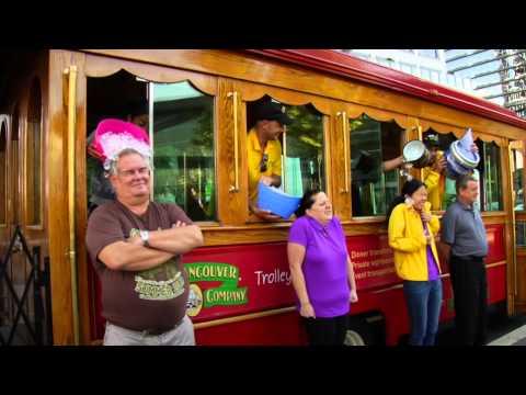 Vancouver Trolley ALS Ice bucket challenge
