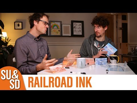 Railroad Ink - Shut Up & Sit Down Review