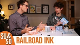 Download Video Railroad Ink - Shut Up & Sit Down Review MP3 3GP MP4