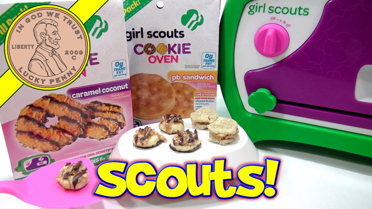 girl scouts cookie oven i bake caramel coconut pb