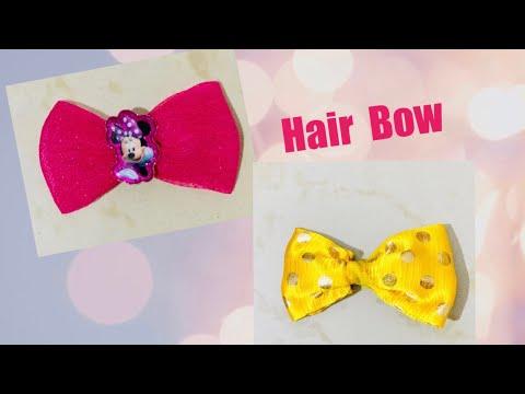Hair Bow    Hair Bow DIY    Hair Bow Ideas