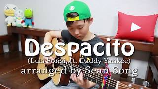 Cậu Bé 10 tuổi cover Guitar - Despacito   Luis Fonsi, ft Daddy | Sơn Beat Official