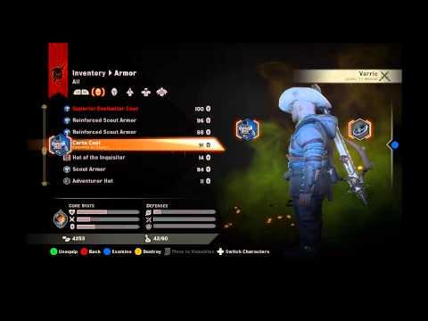 Dragon Age Inquisition : Failure To Deliver Carta Coat RARE