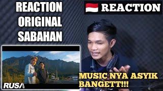 Atmosfera ft. Floor 88 - Original Sabahan [Original Music Video] REACTION