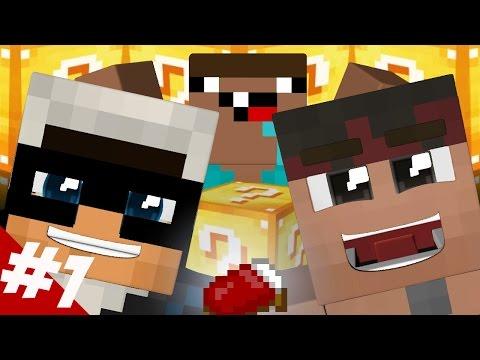 #1 IL NOOB, IL PRO E IL PVPER // Minecraft ITA w/ Ermak Zane & Kendal