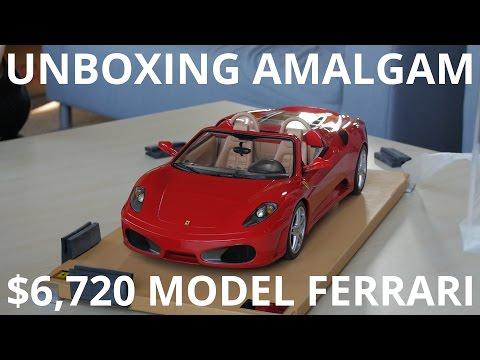 Ferrari F430 Spider: Amalgam Model Unboxing