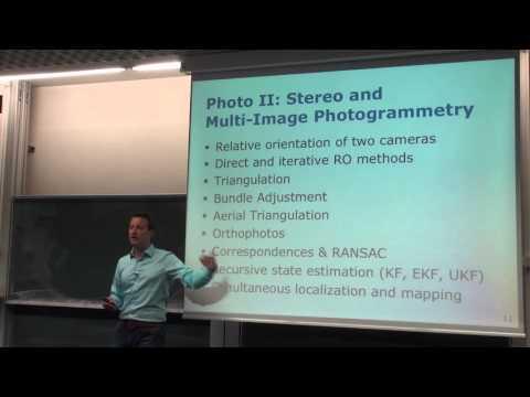 Photogrammetry II - 01 - Introduction (2015/16)