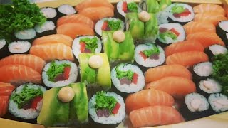 ANOTHER PIECE OF ART ( SUSHI BOAT)