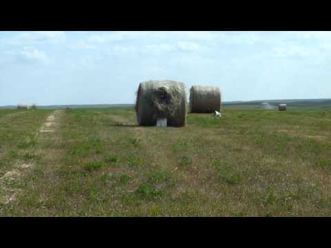 tannerite blowing up a hay bale