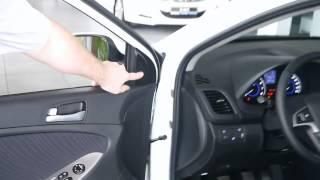 Hyundai Solaris 2014 рестайлинг комплектация Elegance смотреть